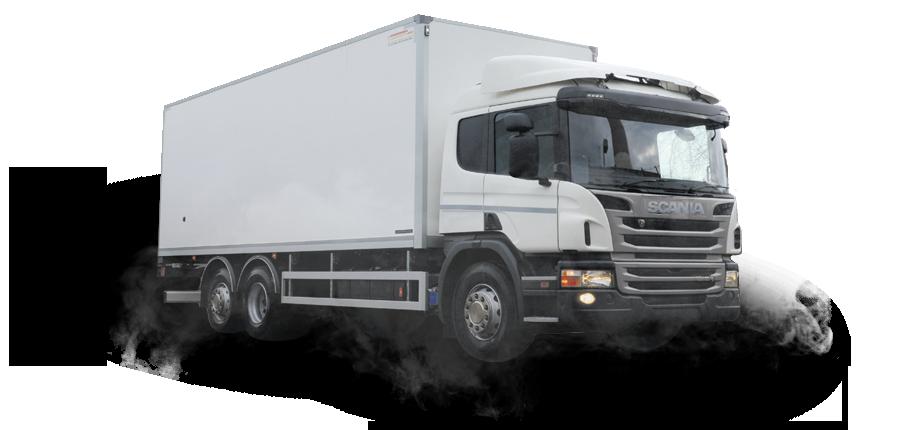 Scania, Промтоварный фургон